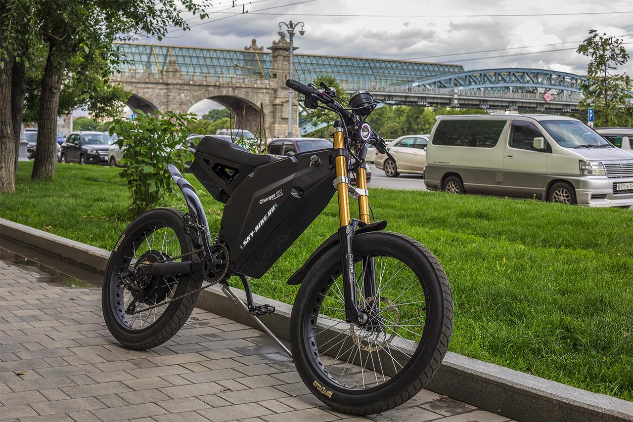 Мощный электровелосипед купить в Москве